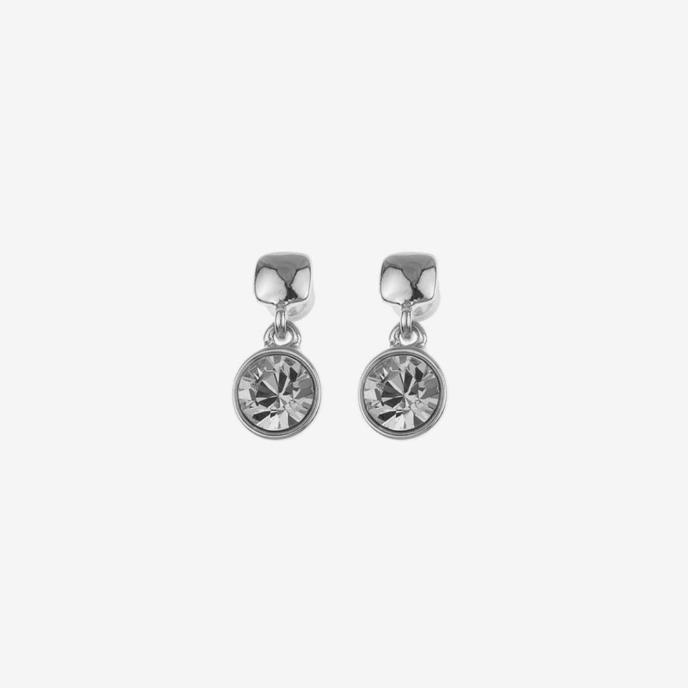 Peak Short Stone Earring