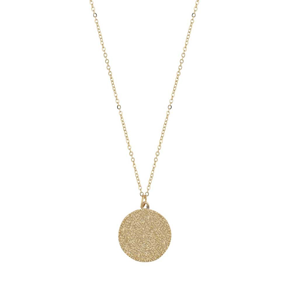 Penny Coin Pendant Necklace