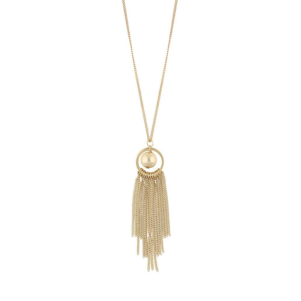 Rimii Globe Tassel Necklace