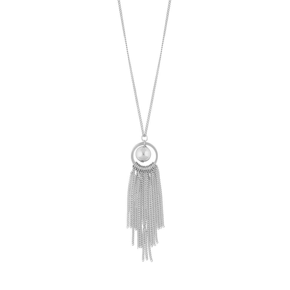 Rimii Globe Tassel Necklace