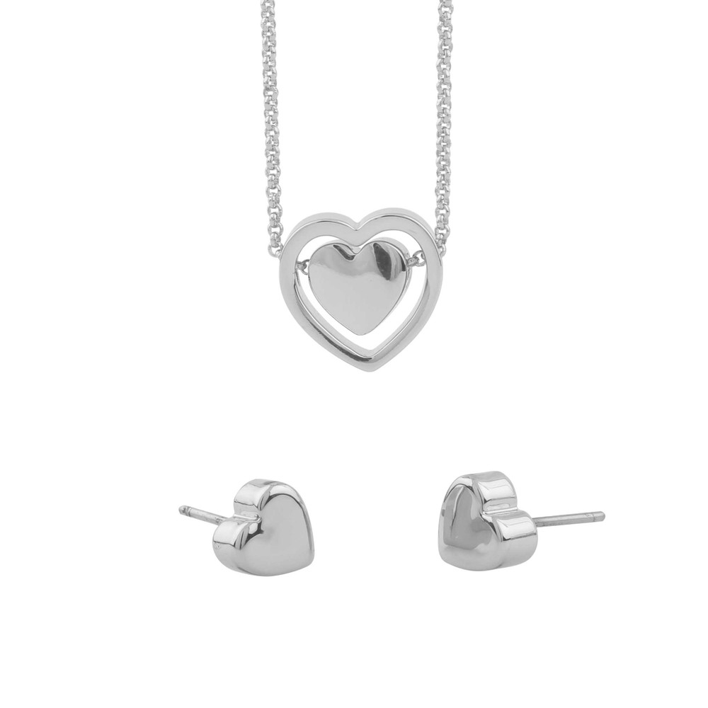 Belize Heart Pendant Set