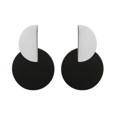 Gray Earring