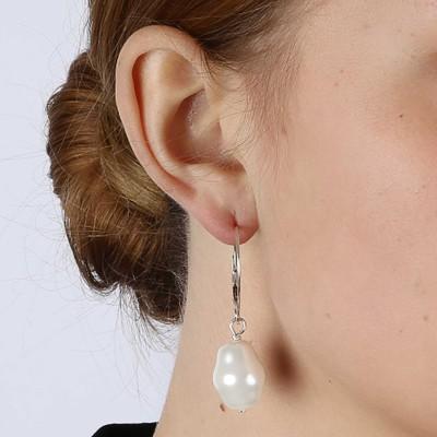 Barrock Big Pearl Earring
