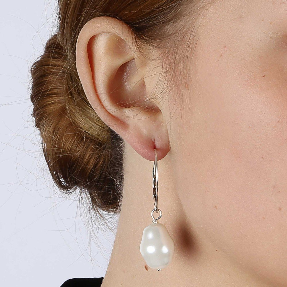 Barrock Big Pearl Earring