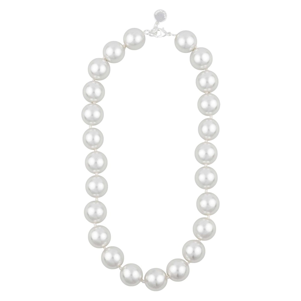 Donna Big Pearl Necklace
