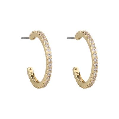 Clarissa Oval Earring