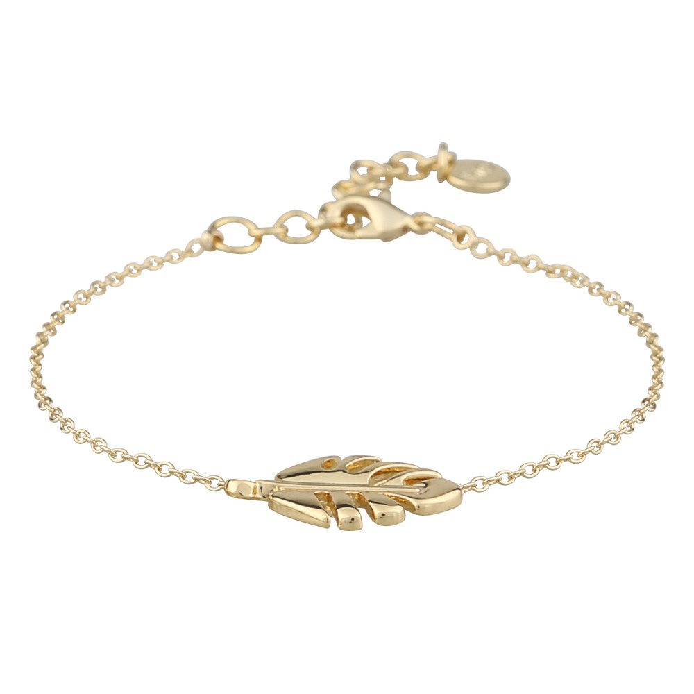 Hyde Leaf Chain Bracelet