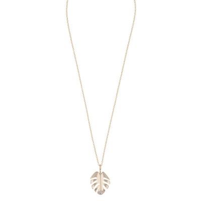 Hyde Leaf Pendant Necklace