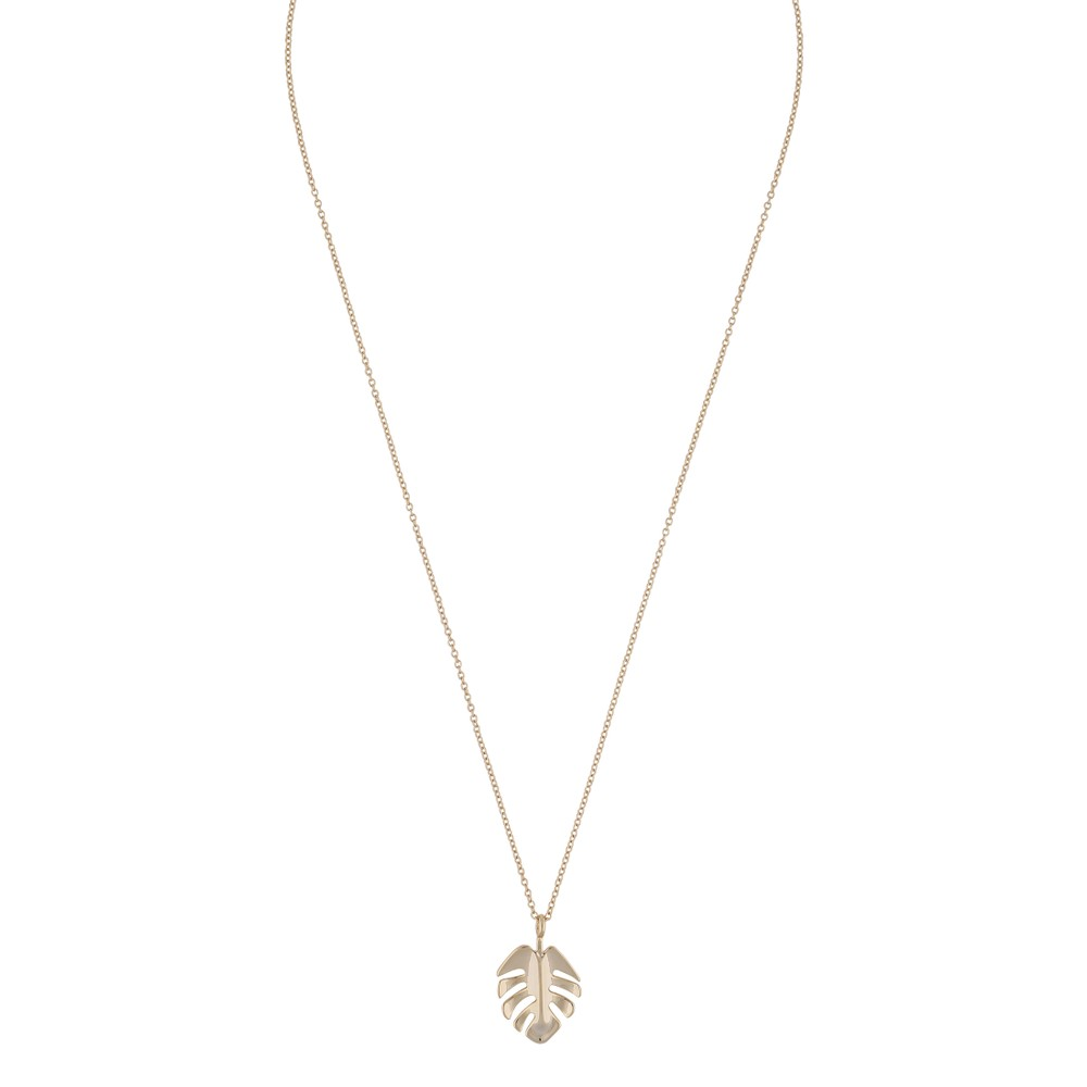 Hyde Leaf Pendant Necklace