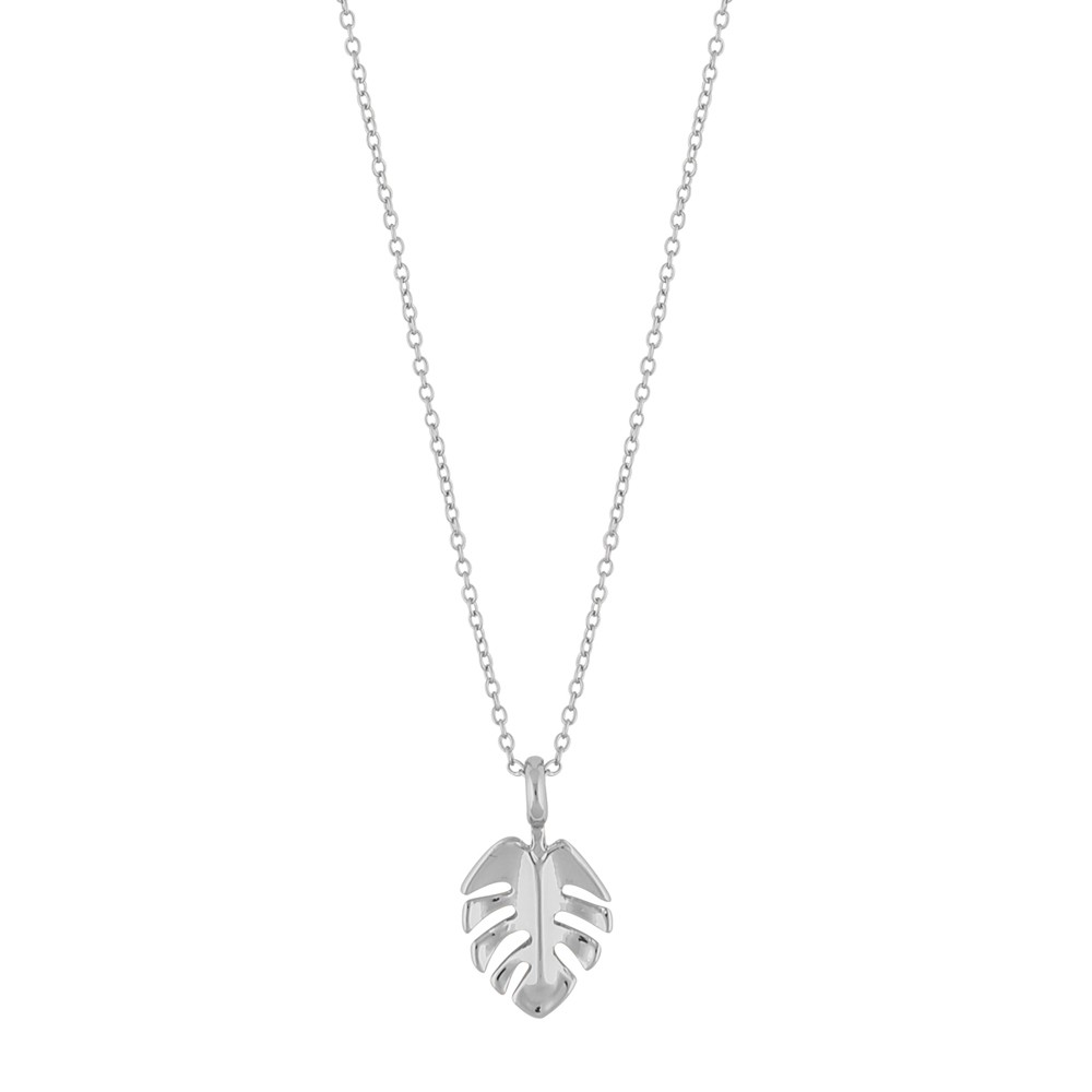Hyde Leaf Small Pendant Necklace
