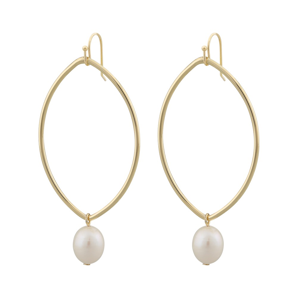 Isabella Pearl Drop Earring