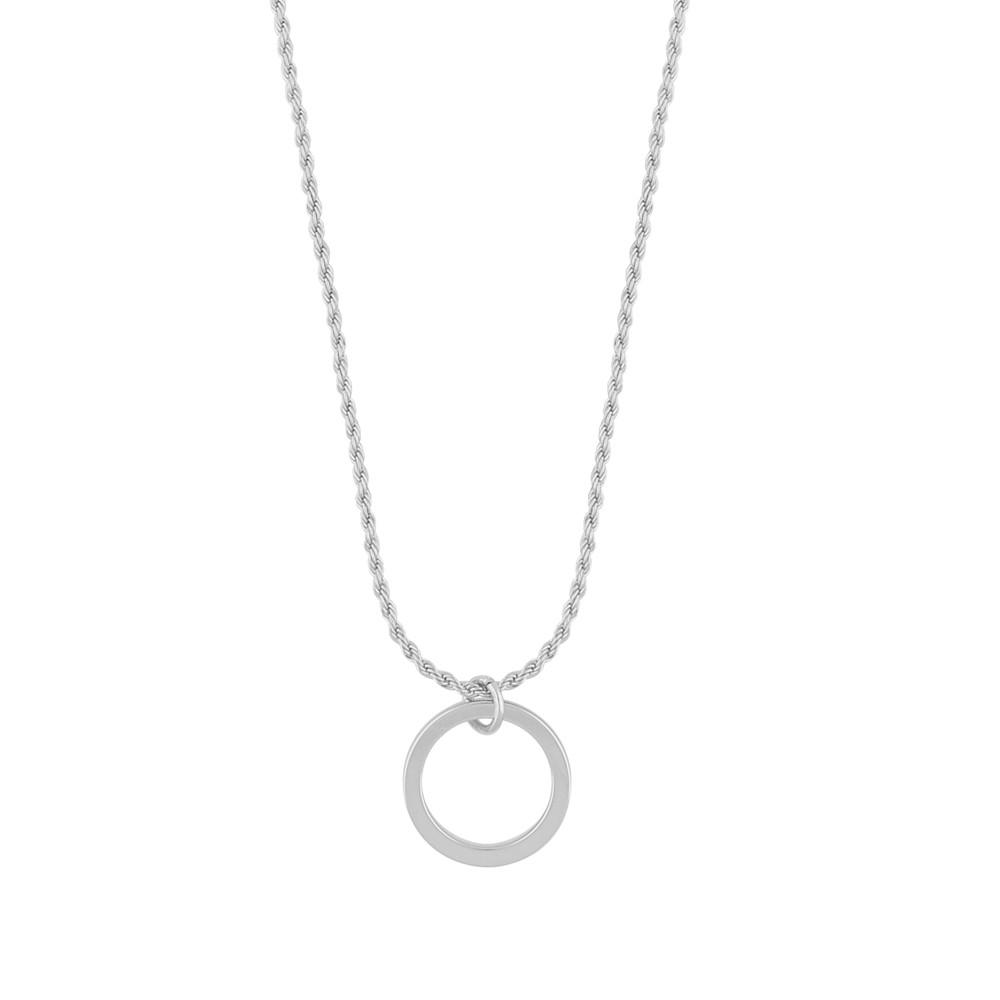 Madeleine Round Pendant Necklace