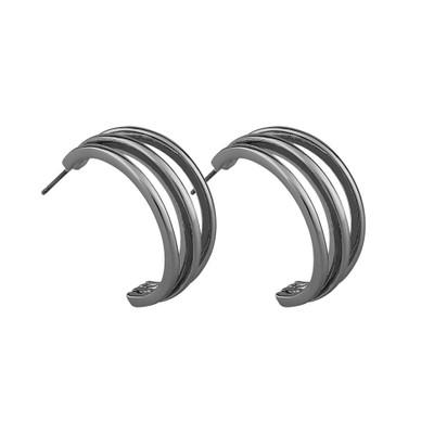 Mette Wide Oval Earring