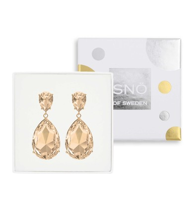 West Broadway Big Pendant Earring