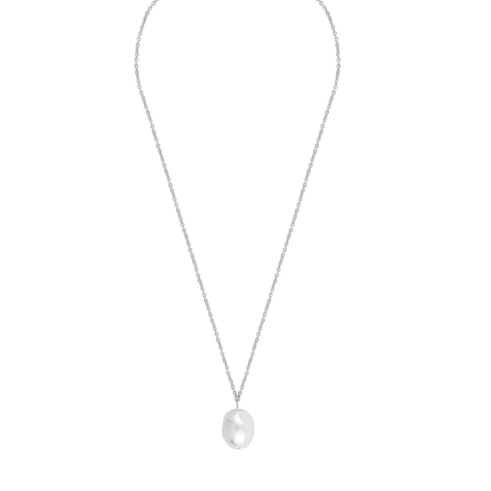 Muse Pearl Pendant Necklace