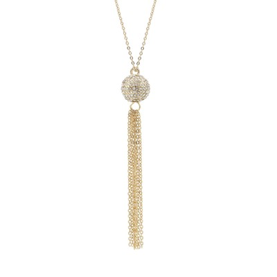 Zin Tassel Necklace