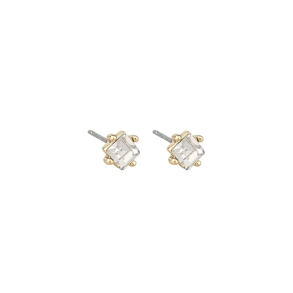 District Small Square Earring