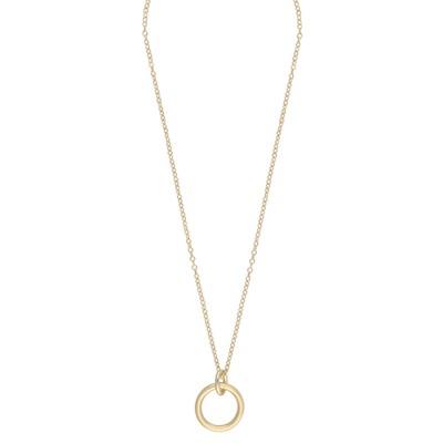 Piper Round Pendant Necklace