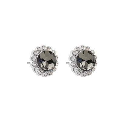 Canal Small Stone Earring