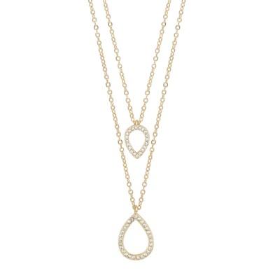 Ciel Double Pendant Necklace