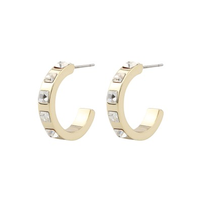 Nocturne Small Oval Earring