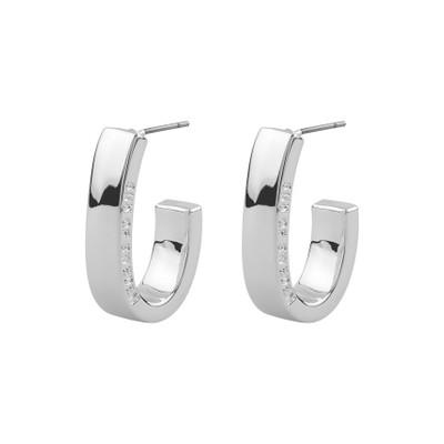 Bridget Wide Oval Earring