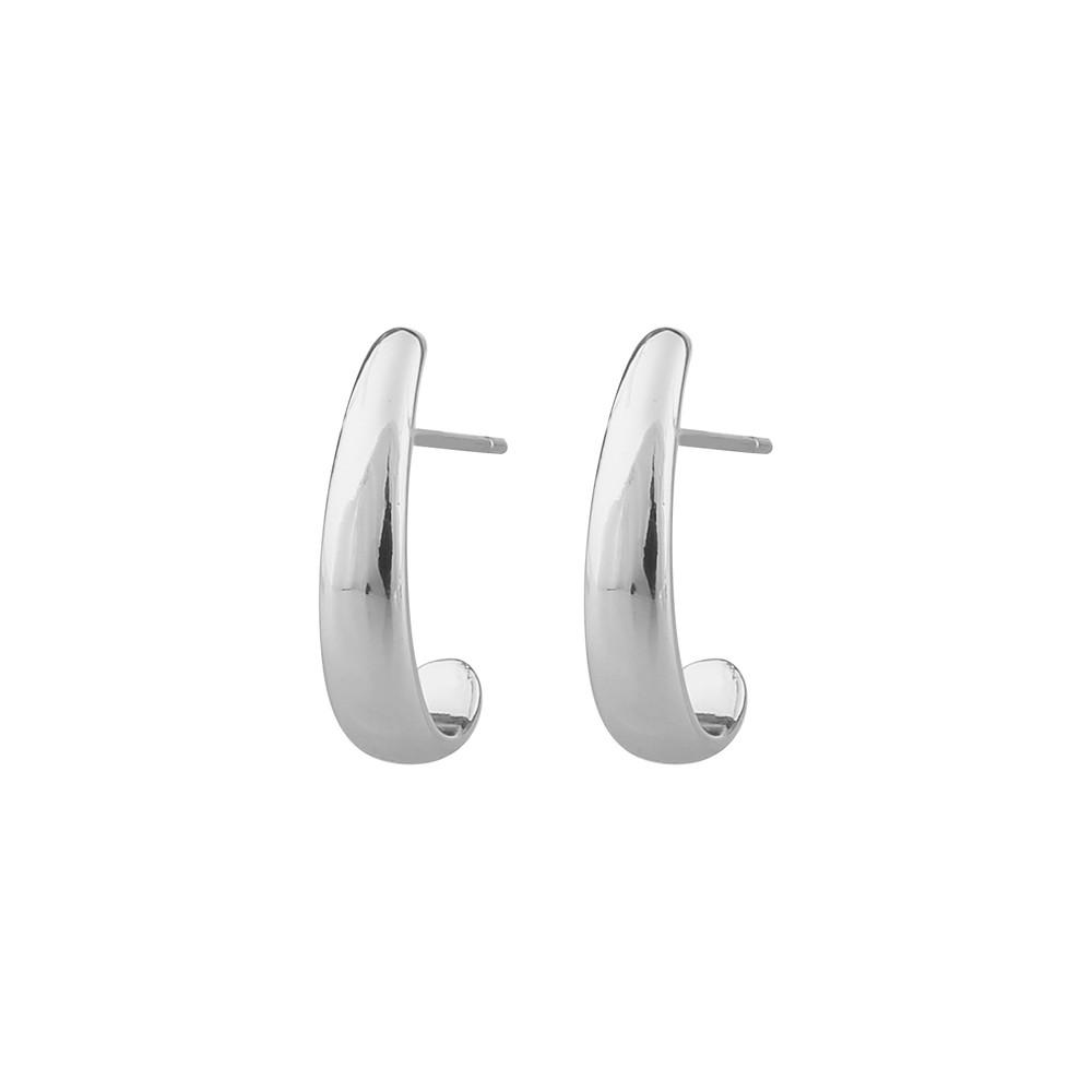 Crystal Oval Earring