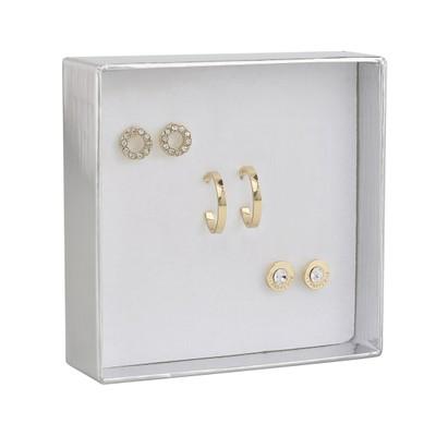 Crystal Royal Earring Set