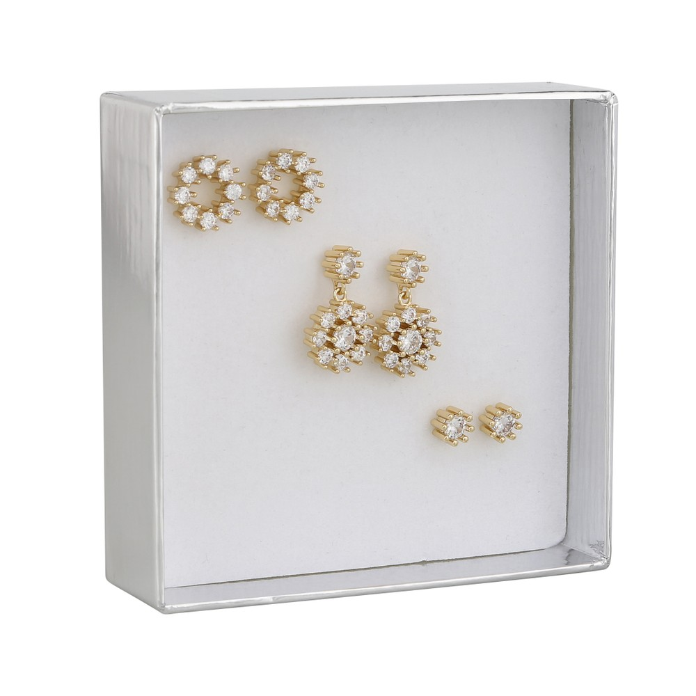 Crystal Vintage Earring Set