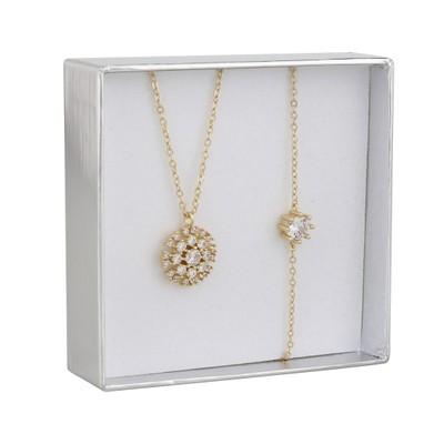 Crystal Vintage Necklace Set
