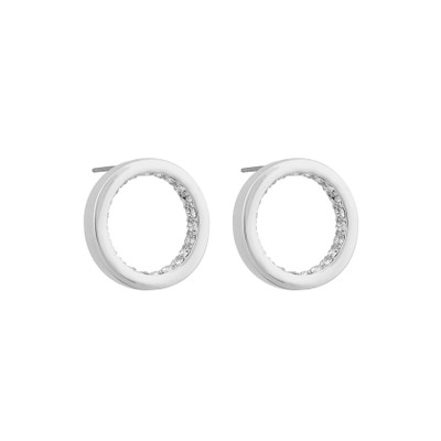 Casey Round Earring