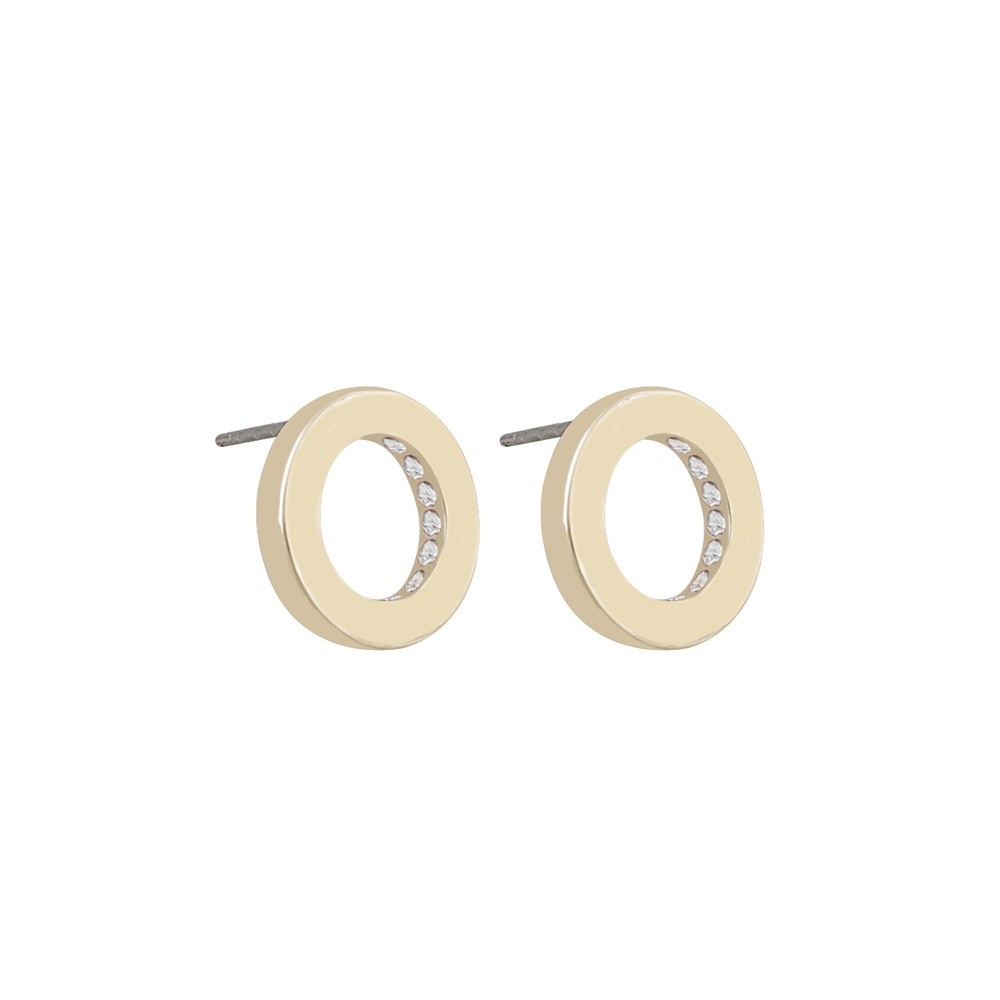 Casey Small Round Earring