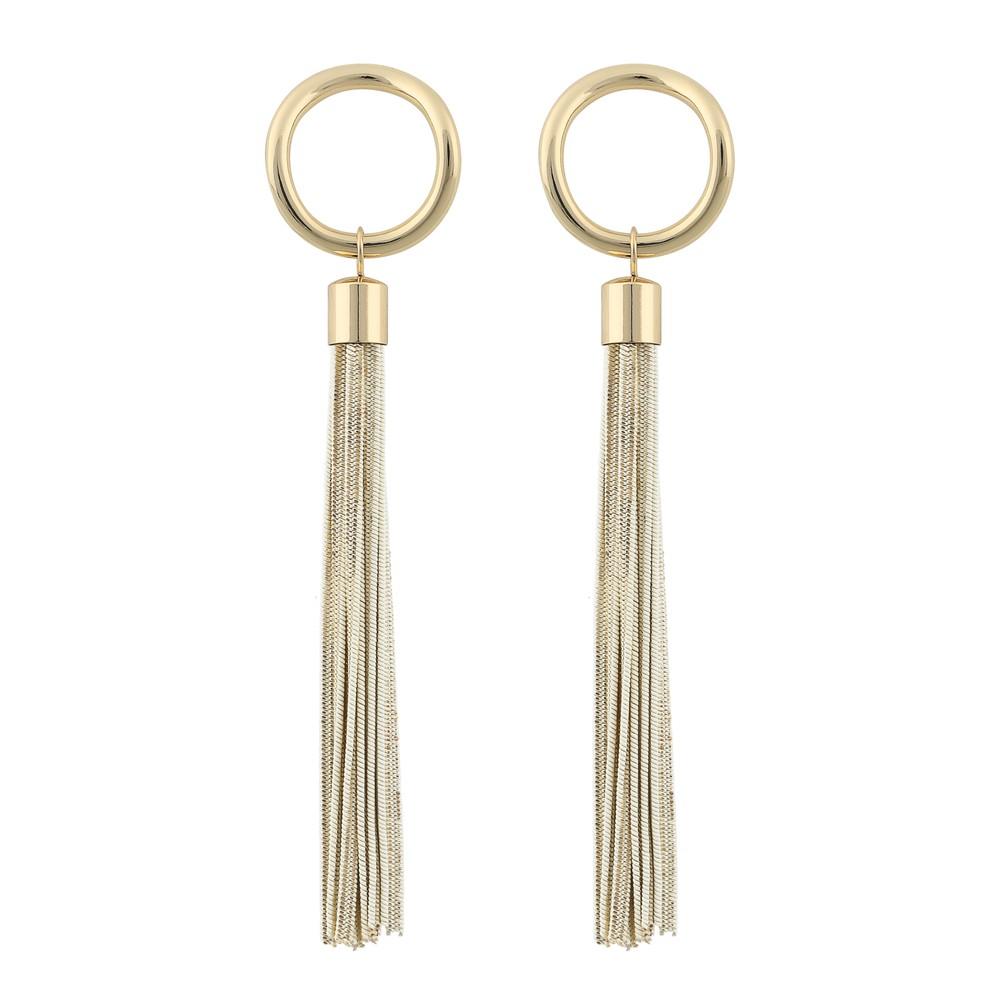 Charlize Long Tassel Earring