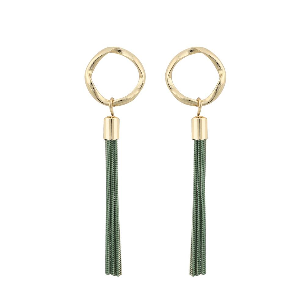 Charlize Small Tassel Earring