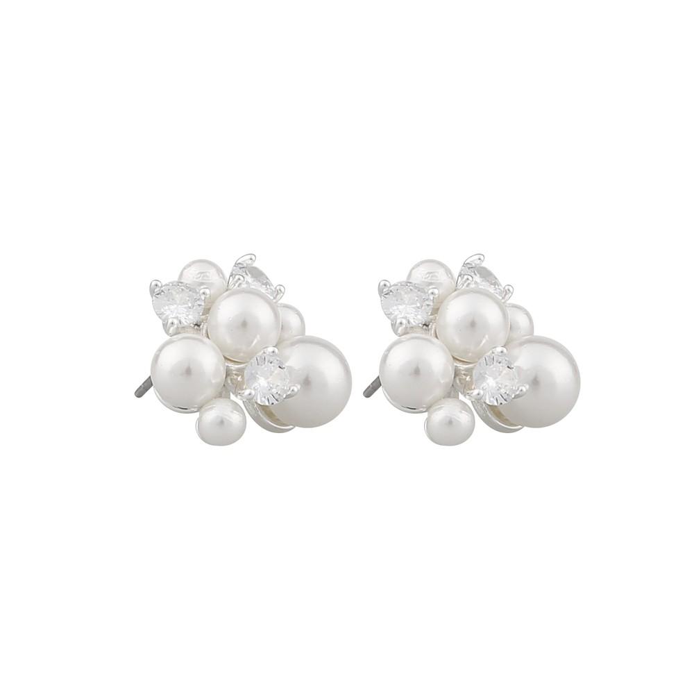 Grass Big Pearl Earring