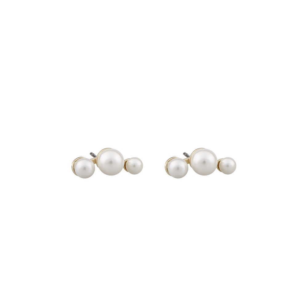 Grass Small Pearl Earring