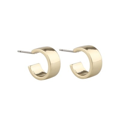 Grass Small Ring Earring