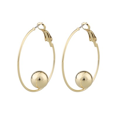 June Big Ring Earring