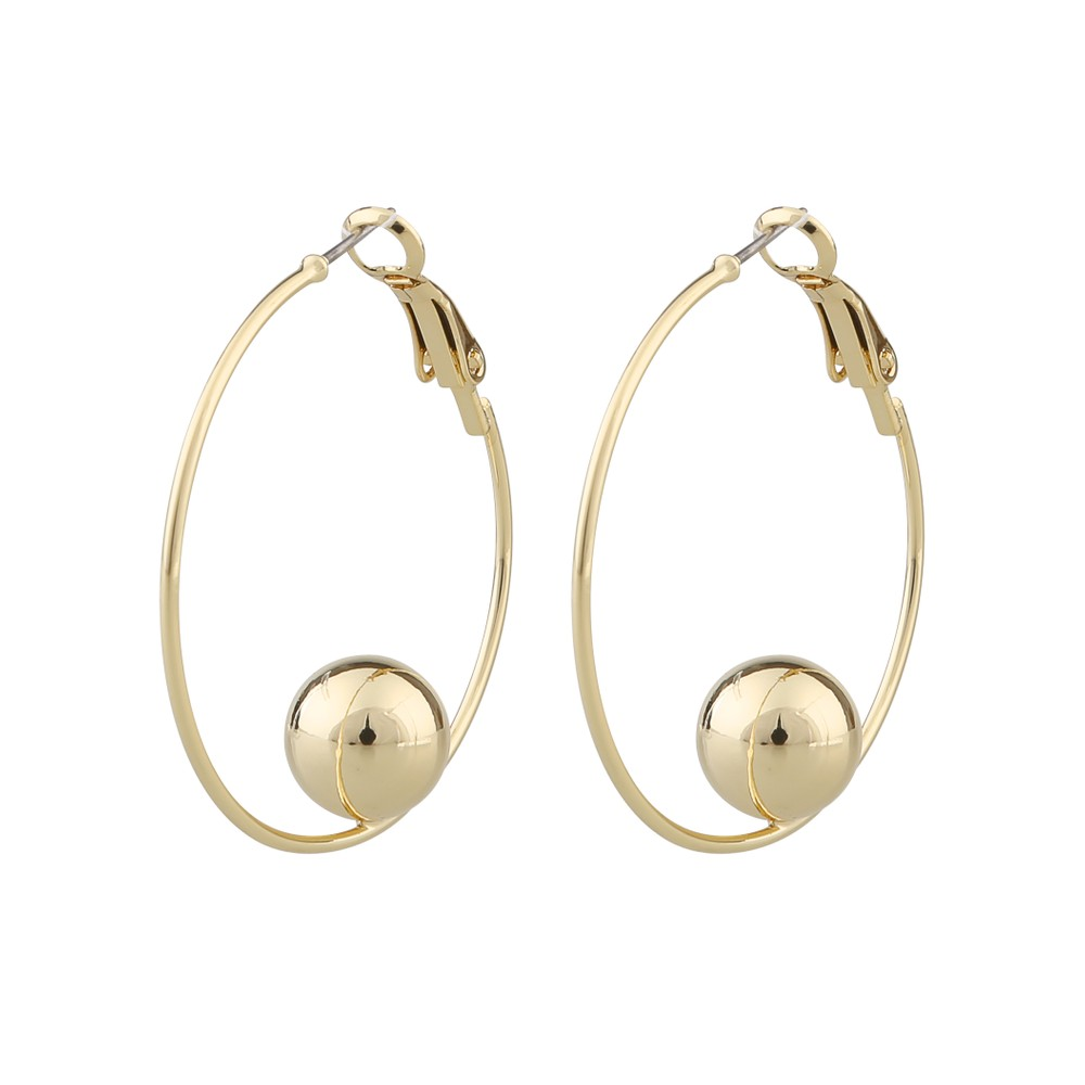 June Big Ring Earring