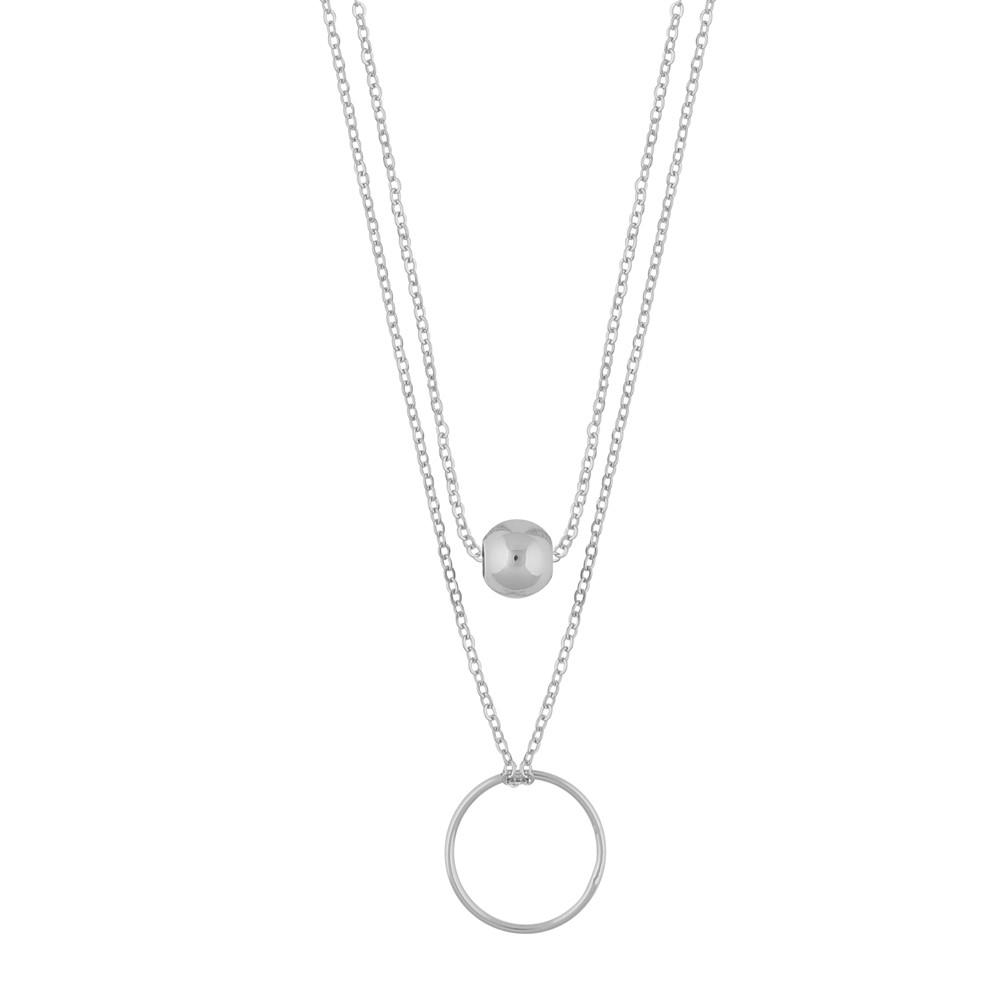 June Double Necklace