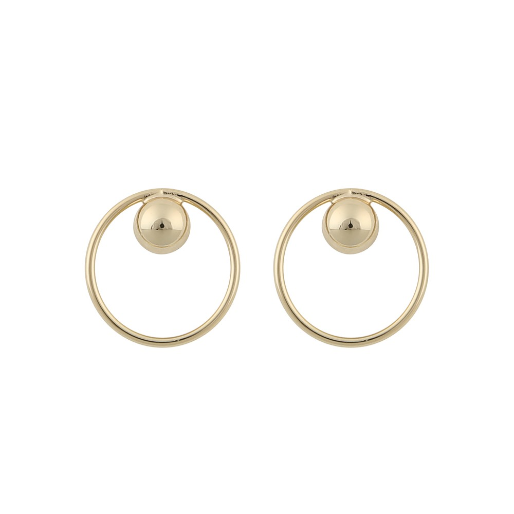 June Globe Earring