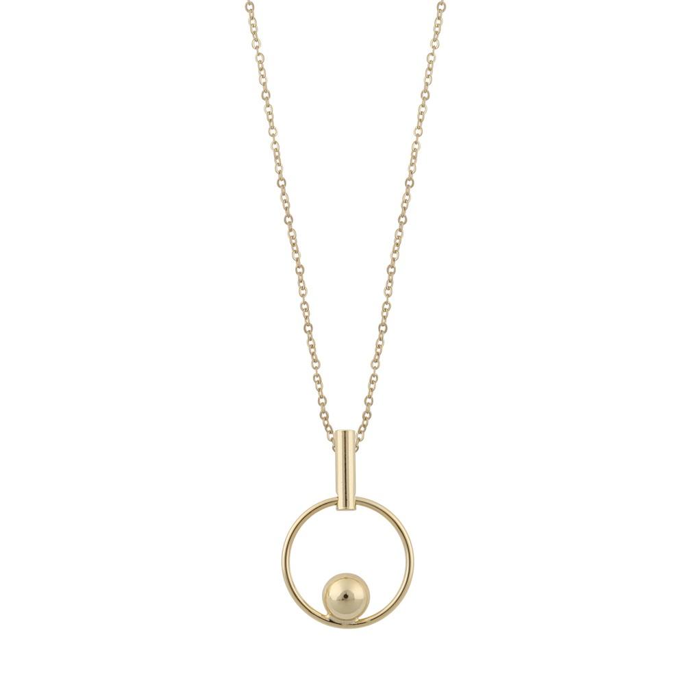 June Globe Pendant Necklace