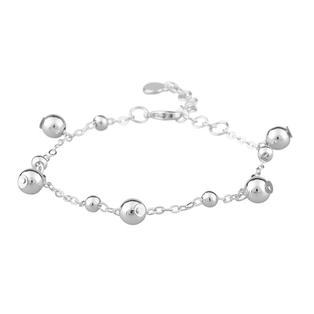 June Small Charm Bracelet