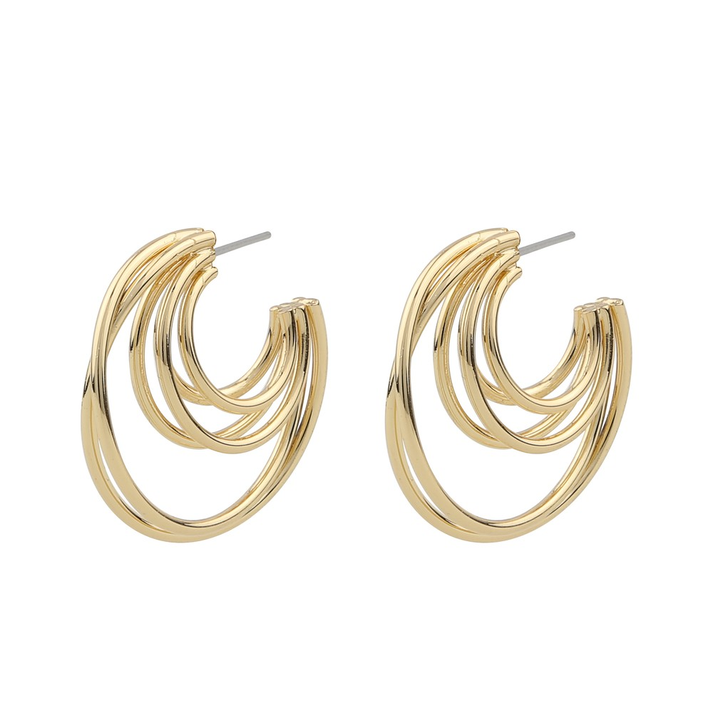 Lio Big Oval Earring
