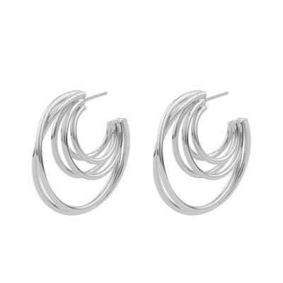 Lio Big Oval Earring