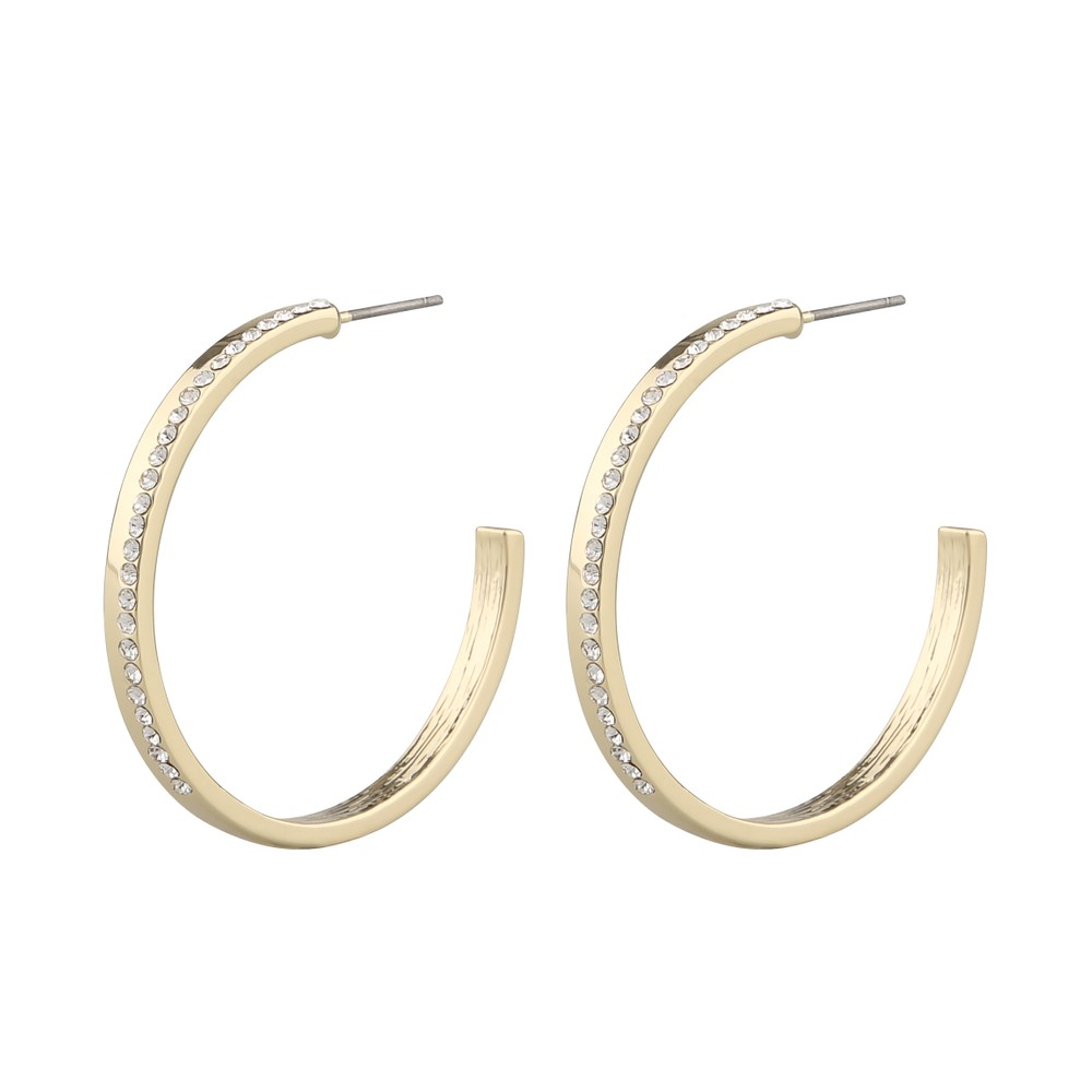Marseille Big Oval Earring