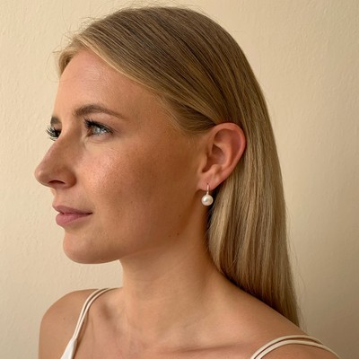Angelina Pearl Earring