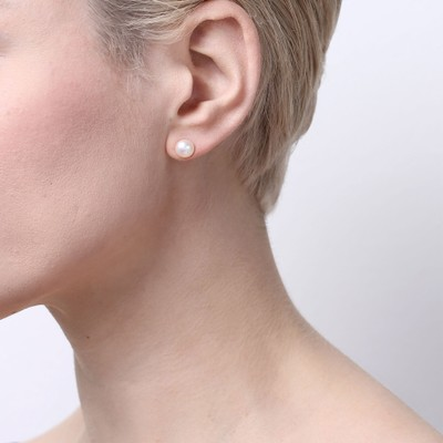 Angelina Small Pearl Earring
