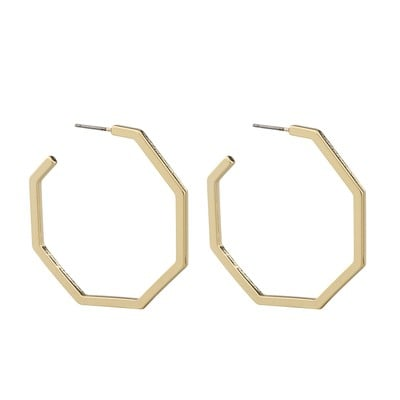 Paus Big Oval Earring