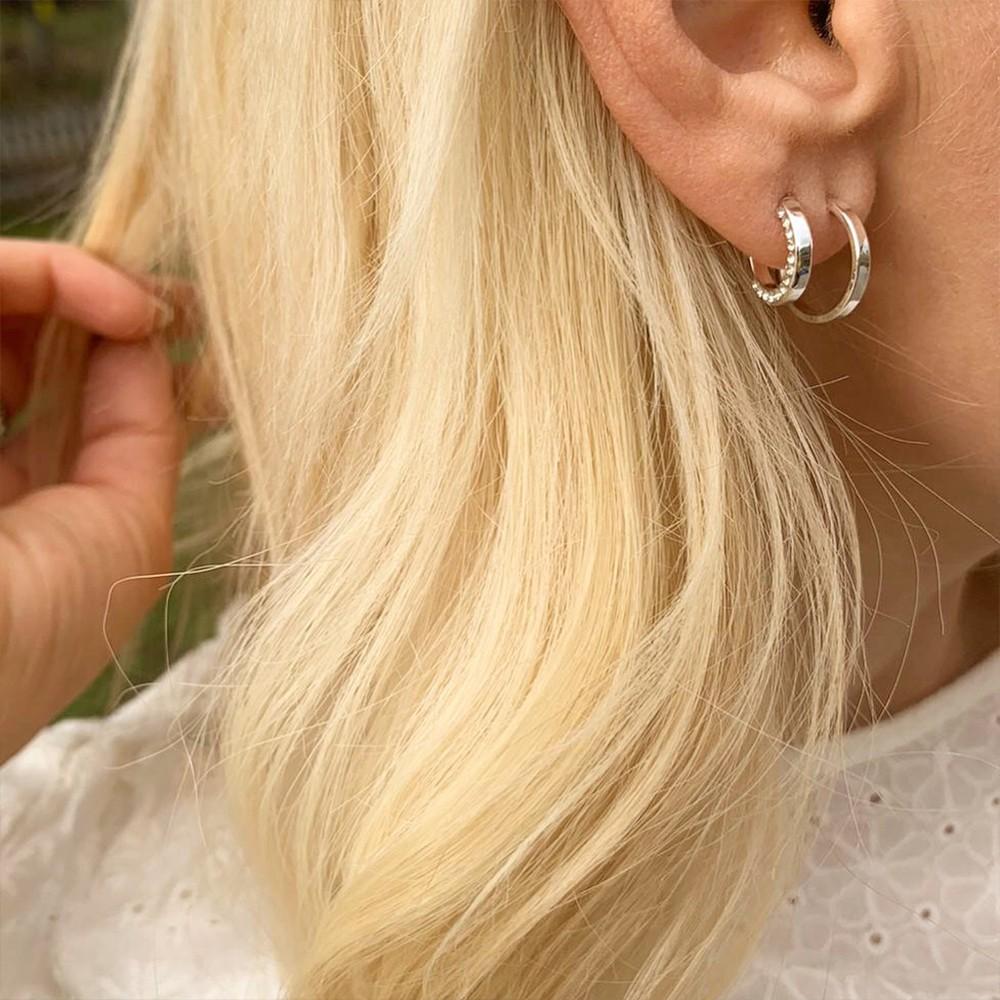 Portal Small Ring Earring